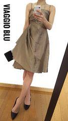【美品】Viaggio Blu/ビアッジョブルー◆定価5万2920円◆ドレス