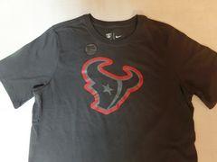 ナイキ【DRI FIT】NFL【Houston Texans】ロゴプリントT US L