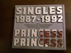 プリンセス・プリンセス「SNGLES 1987-1992」ベスト/初回