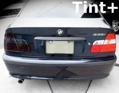 Tint+糊残りナシ BMW E46セダン テールランプ スモークフィルム