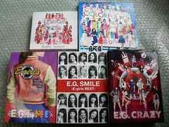 E-girls【Lesson1/E.G.CRAZY/TIME/SMILE-BEST】初回盤5枚set