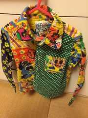 JAMカントリーバーガーシャツ110グリーン美品