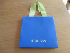 即決!moussy マウジー ショップ袋 ショッパー