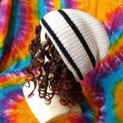 男女兼用♪ワッフル編みニット帽子◆トレンドカジュアルstyle