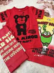 partypartyパーティパーティ☆Tシャツ2枚&エコバッグ&パスケース