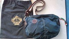 激安60%オフオロビアンコ、ボディバッグ、ショルダーバッグ(美品袋、紺、伊勢丹)