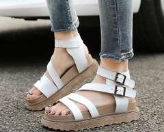 3色 上品質レディースサンダル 厚底 美脚歩きやすい 22〜26.5cm
