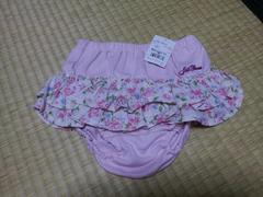 新品タグ付き☆ジルスチュアート☆花柄フリル付きブルマ☆ピンク