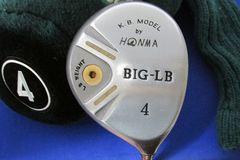 ホンマ【中古】BIG-LBメタル Mグレー・4W(SR)[1559]