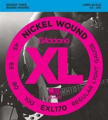 ダダリオ ベース弦 ニッケル .045-.100 EXL170