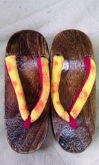 21cmくらい草履黄色と赤