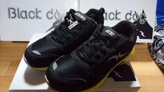 送料込★ブラックドック安全靴[黒]26cm