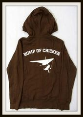 @BUMP OF CHICKEN @パーカー GOOD GLIDER TOUR茶色Sサイズ