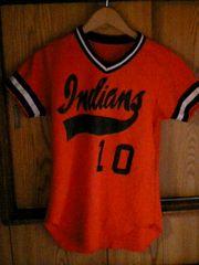 ウィルソン☆wilson☆ベースボールTシャツ☆古着インディアンズ