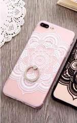 新品 iPhone7 plus iPhone8 plus用 ケース ホワイト�@
