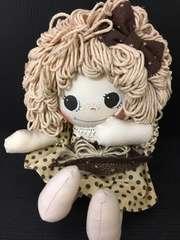 4838 ハンドメイド アメリカンカントリー ベージュ 人形