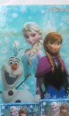 ☆アナと雪の女王☆クリアファイルとポケットティッシュのセット☆新品