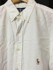 ラルフローレン BDシャツ 白 16 1/2 32 ポロ