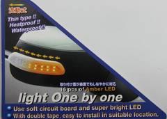 汎用LEDドアミラーウインカーtype5
