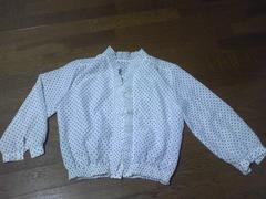 シャツ/長袖/水玉柄/Mサイズ/ブラウス/まとめ買い歓迎