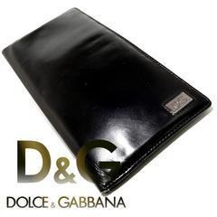 良品 1スタ★ドルガバ/D&G【イタリア製】メンズ 長財布