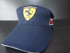 ★新品!フェラーリー・帽子CAP・紺色★