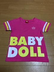BABYDOLL☆Tシャツ120☆ラズ