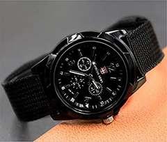 【送料込】Honel 腕時計 スタンダード メンズ ブラック