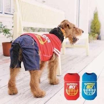 SimplersV フットボールTシャツ 8L ブルー★新品 〜35kg位