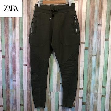 ZARA MAN バイカー スウェットパンツ