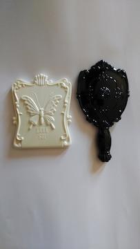 ANNASUI アナスイ ビューティーミラー ホワイトとハンドミラー 鏡