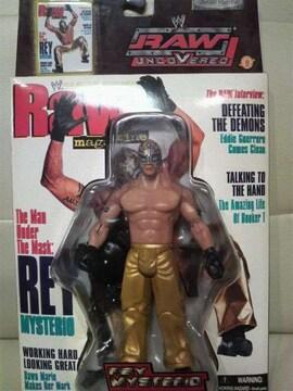 新品 貴重WWE RAWマガジン バージョン! レイ・ミステリオ タトゥ少なめ