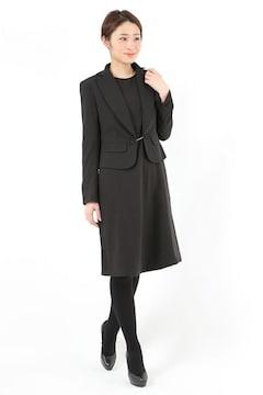 女性スーツ 冠婚葬祭ママ喪服ブラック入学卒業お受験 M9号