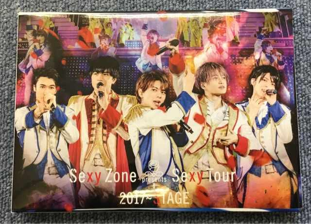 Sexy Zone Presents Sexy Tour 2017〜STAGE Blu-ray 初回限定 < タレントグッズの