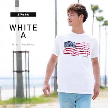 メンズ 国旗柄 Tシャツ M