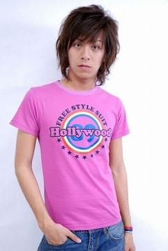 89hollywood FREESTYLE Tシャツ/紫S SANFORD