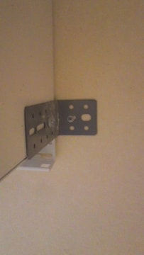 ユニットビス100セット 横連結 壁固定 耐震補給