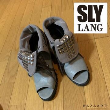 ☆SLY LANG 2wayブーツサンダル オープントゥブーツ☆