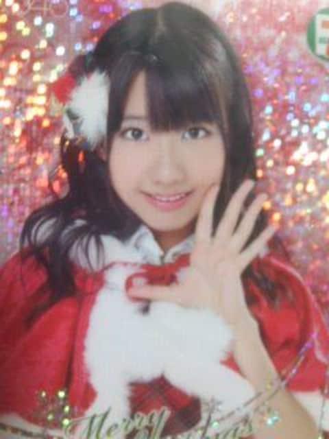 AKB48柏木由紀 クリスマストレーディングカード2010年 未使用新品 < タレントグッズの