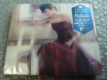 安室奈美恵『Ballada』初回限定盤【CD+Blu-ray】ベスト/新品
