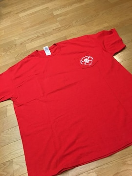 JEFF,S PIRATES  COVE   赤RED  size2XL ポケットT  海外購入