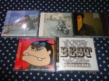 スネオヘアー 廃盤AL.5枚セット初回盤/DVD付(SUGAR FIELDS,MONO)
