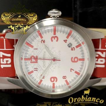 極美品【箱・保証書付】オロビアンコ/Orobianco メンズ腕時計
