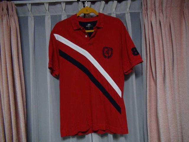 ミチコロンドンのポロシャツ(M)赤!。   < 男性ファッションの