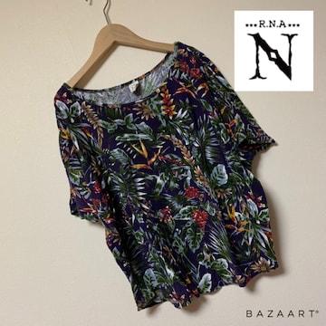 ☆RNA-N ボタニカル柄Tシャツ☆