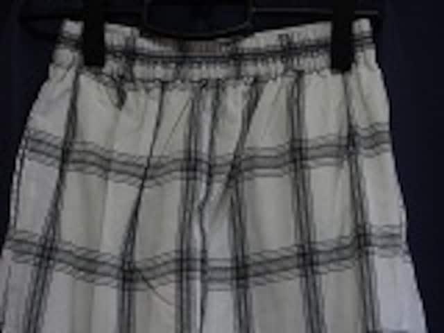 AZUL ワイドチェックイージーパンツ < 女性ファッションの