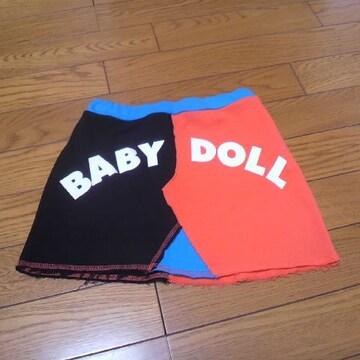 新作BABYDOLLミニスカート120�a★