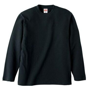 United Athle 5.6オンス ロングスリーブTシャツ ブラック M