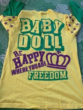 美品 BABYDOLL ロンT