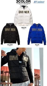 DIVINER ロゴ刺繍中綿ジャケット/ダウンタイプ/◆DOWBL系